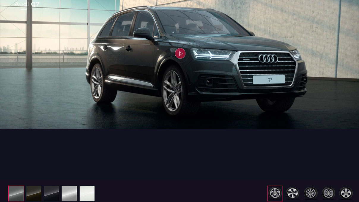 SEO micro website Audi Q7
