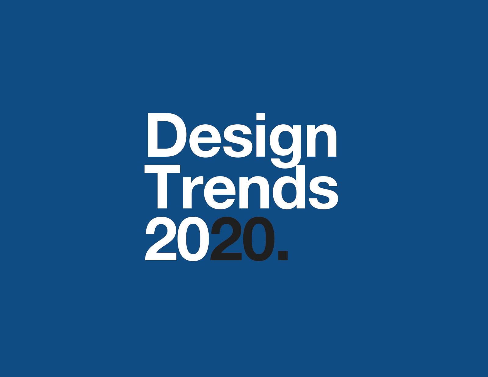 Тренды дизайна 2020