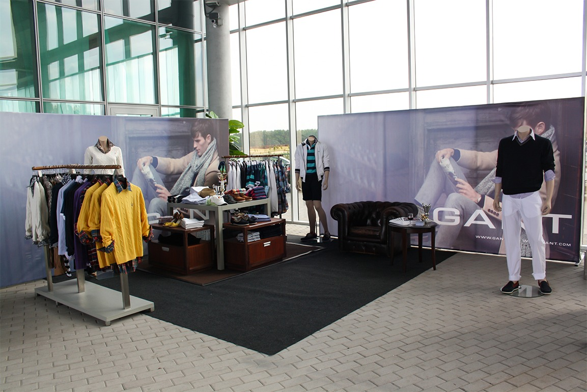 SEO promotion gant showroom