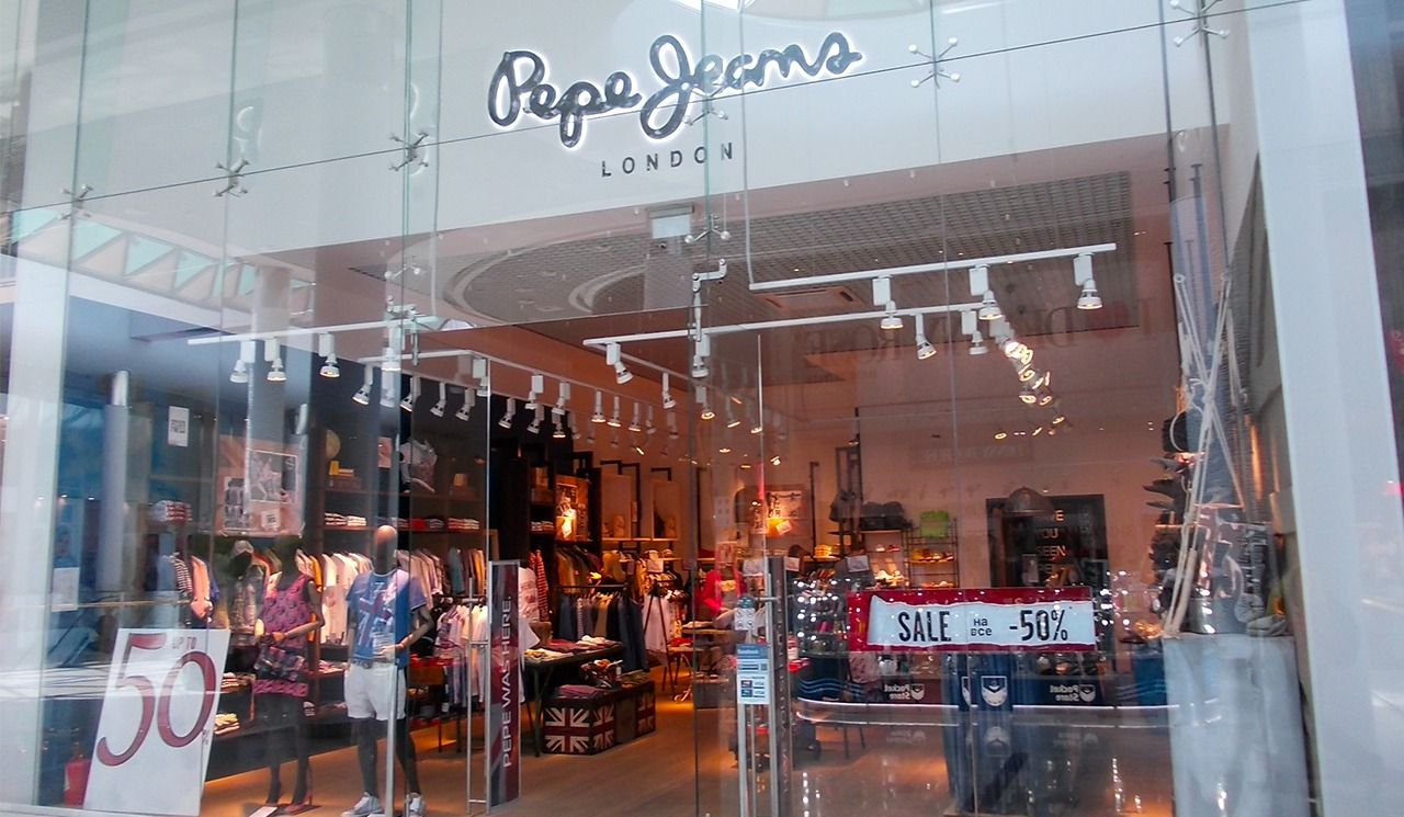 SEO website promotion Pepe Jeans London